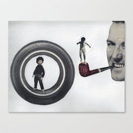 Bob Atlas Canvas Print