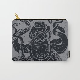 Mark V Octopus - grey Carry-All Pouch
