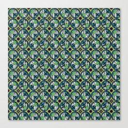 Laguna - Chartreuse - Gothic Pasifika Canvas Print