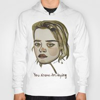 sky ferreira Hoodies featuring Sky Ferreira by Icillustration