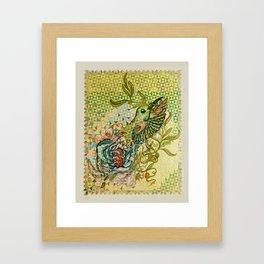 olive nation Framed Art Print