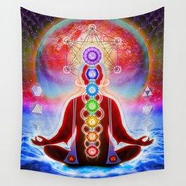 In Meditation Wall Tapestry