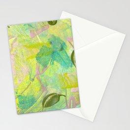 Leafy Breeze Stationery Cards