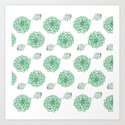 PATTERN II Succulent Life by desert2district