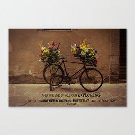 Bicicletta Canvas Print