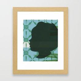 Lawn study 3 Framed Art Print