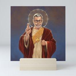 Saint Jeff of Goldblum Mini Art Print