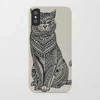 british iPhone & iPod Cases featuring Polynesian British Shorthair cat by Huebucket
