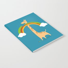 Taste of Happiness Rainbow Notebook