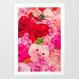 Thoughts on Being Agreeable Art Print