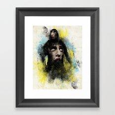Creeper Framed Art Print
