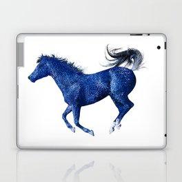 Happy Horse in Blue Laptop & iPad Skin