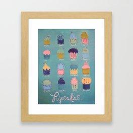 Pupcakes Framed Art Print