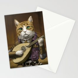 Bard Cat Stationery Cards