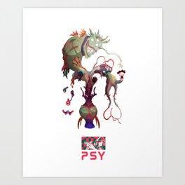 P S - Y Art Print