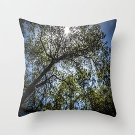 Upwards Throw Pillow