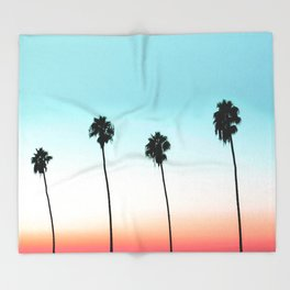 Sunset Boulevard #society6 #decor #buyart Throw Blanket