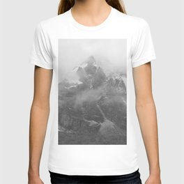 Rocky Mountain Fog B&W T-shirt