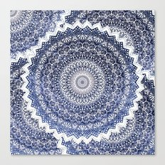 COLD WINTER MANDALAS Canvas Print