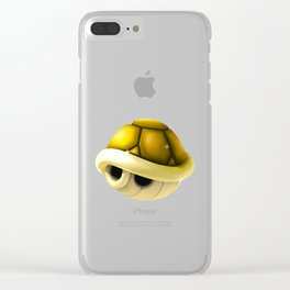 Gold Shell - Mario Bros Clear iPhone Case