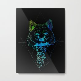 Inverted Shapeshifter Metal Print