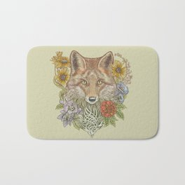 Fox Garden Bath Mat