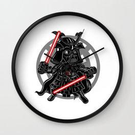 Comic - Dark Samurai Warrior Laser Wall Clock