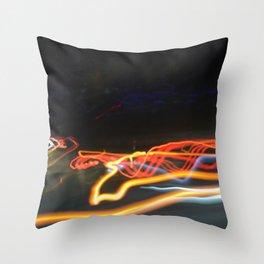 Night Photo 0159 Throw Pillow