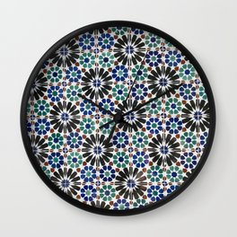 Azulejos Lisbon Portugal 4 Wall Clock