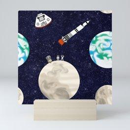 Moon Landing - Large Scale Mini Art Print