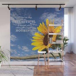 Summer Sunshine Wall Mural