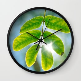 Leaking Light Wall Clock