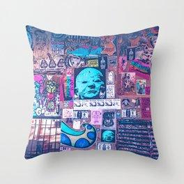Seattle Post Alley Pop-Art Throw Pillow