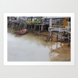 When The Rain Is Over Art Print