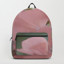 Zonal Pelargonium Neon Pink Backpack
