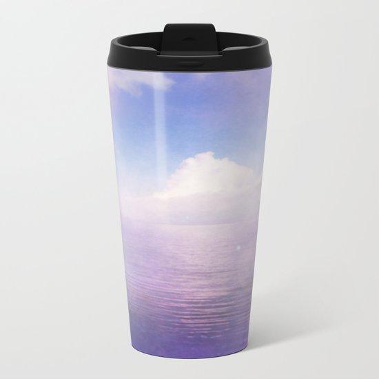 Tranquil Lake Metal Travel Mug