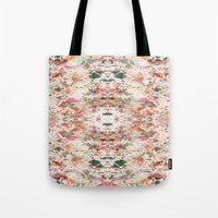 minerals Tote Bags featuring Mystic Minerals 3 by Caroline Sansone