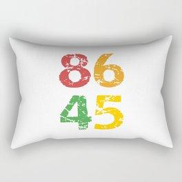 8645 (colorful) Anti Trump Rectangular Pillow