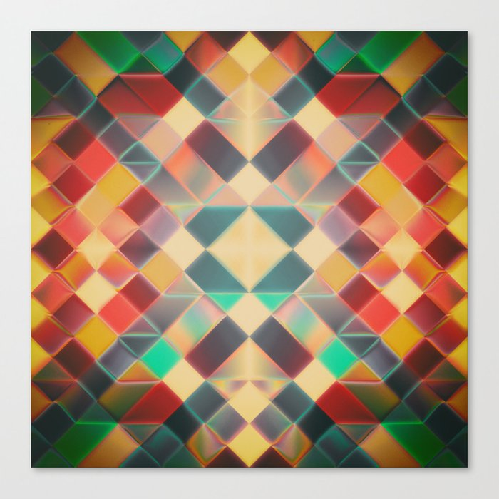 Candy Miracle Tile Canvas Print