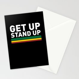 Get Up Stand Up / Rasta Vibrations Stationery Cards