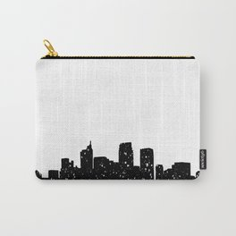 Panorama city in lights or snow Carry-All Pouch