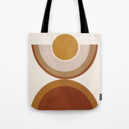 Modern Geometry Tote Bag