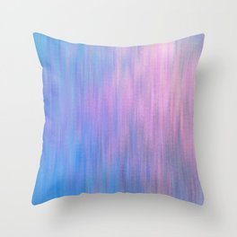 Pink Invader Throw Pillow