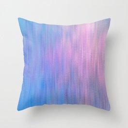 Pink Invader Throw Pillow