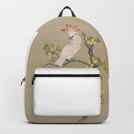 Moluccan Cockatoos Backpack