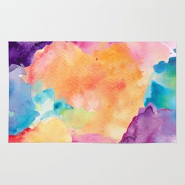 Watercolour Clouds Rug