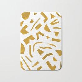 Cut out - Yellow Bath Mat
