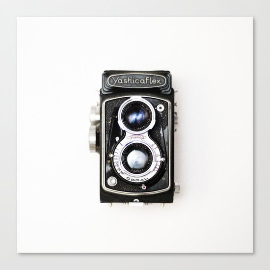 Yashica Retro Vintage Camera Canvas Print