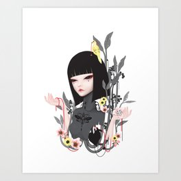 broken doll no.2 Art Print