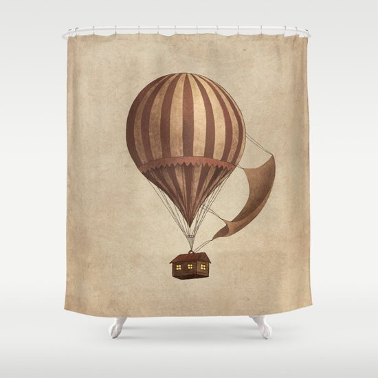 Departure Shower Curtain